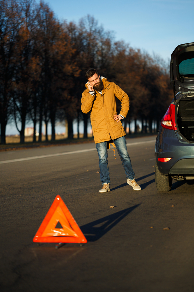 Car recovery breakdown recovery